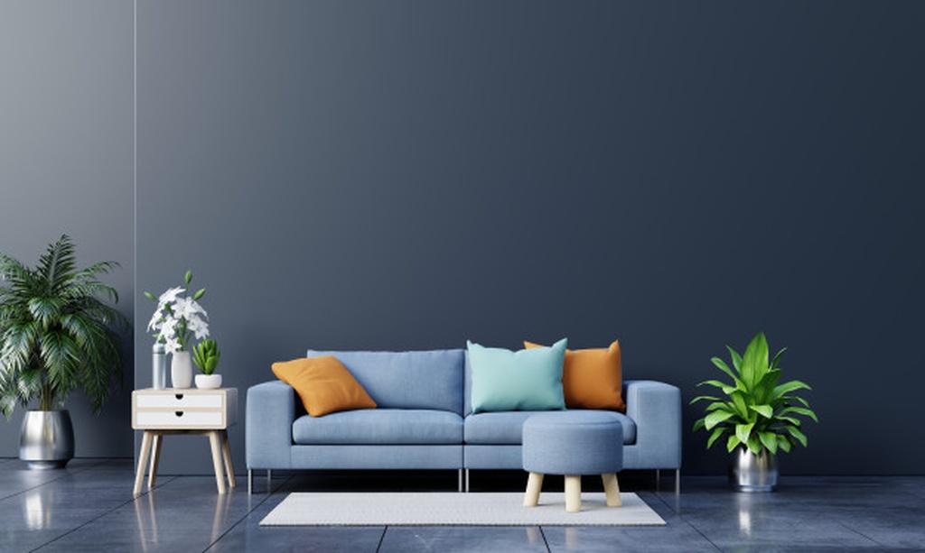 Vải da lộn, chất liệu vàng cho nội thất hiện đại