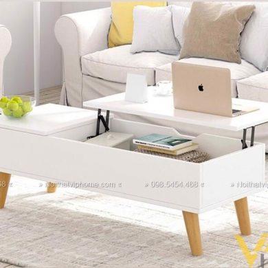 Bàn trà sofa thông minh đẹp BTTM-1801