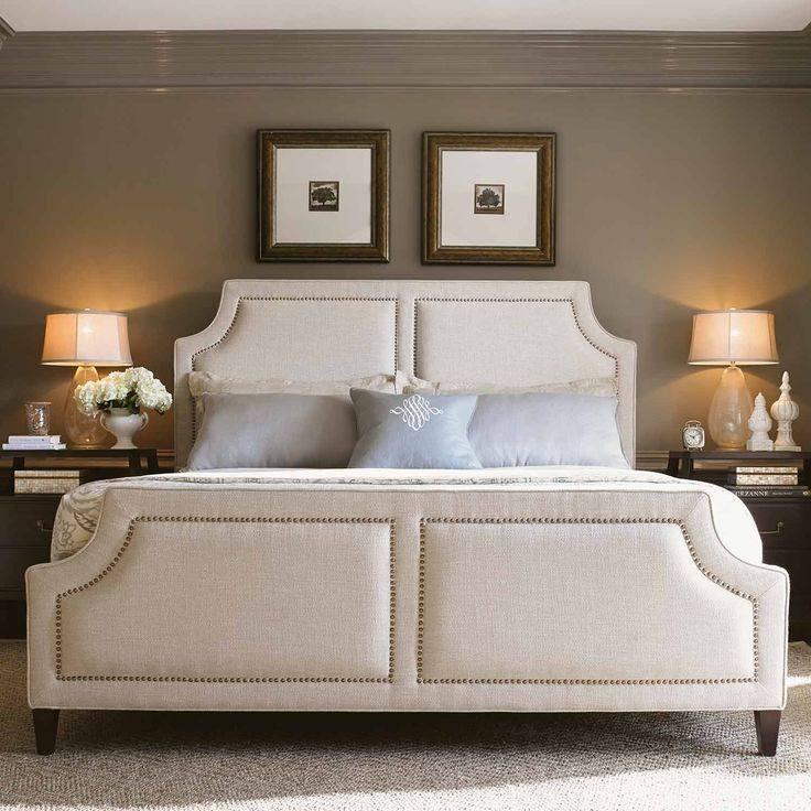 Giường-bọc-vải-nỉ-tân-cổ-điển-đẹp