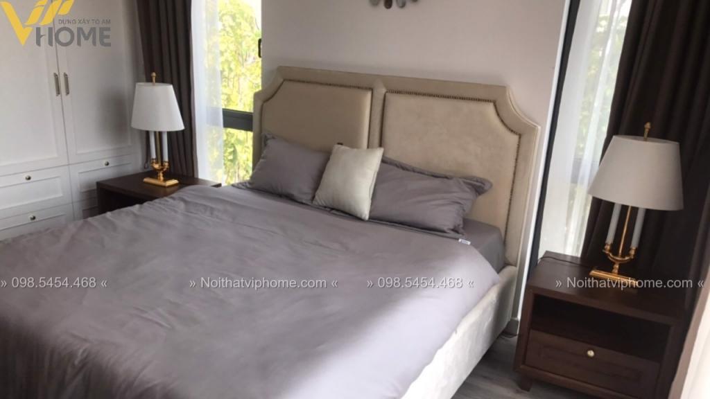 Giường ngủ đôi tân cổ điển đẹp GBD-2001 2 1