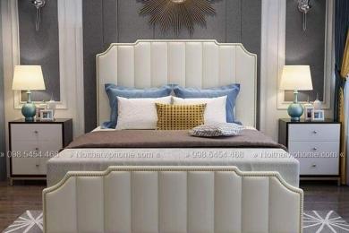 Giường ngủ đôi tân cổ điển đẹp GBD-2003 1