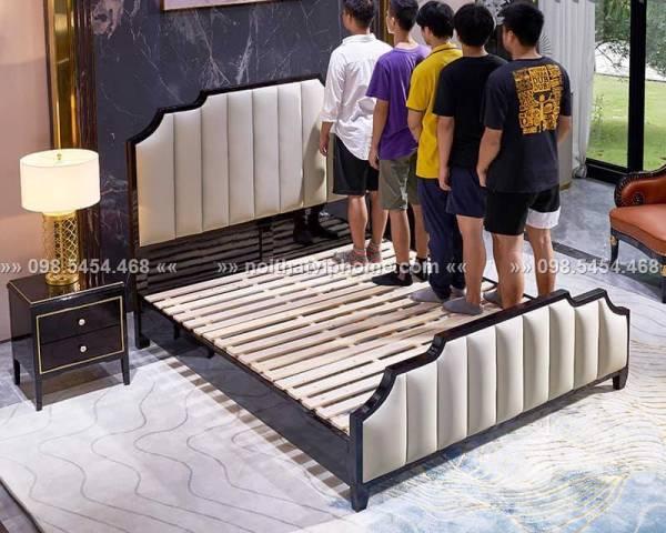 Giường ngủ đôi tân cổ điển đẹp GBD-2003 2