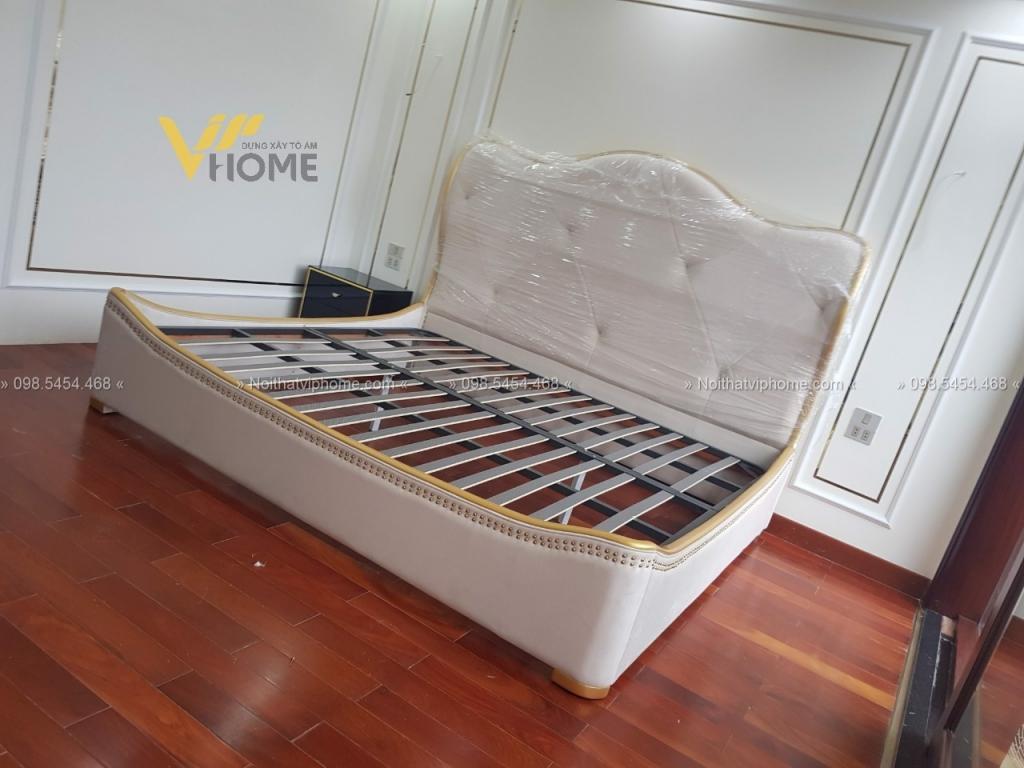 Giường ngủ đôi tân cổ điển đẹp GBD-2005 3