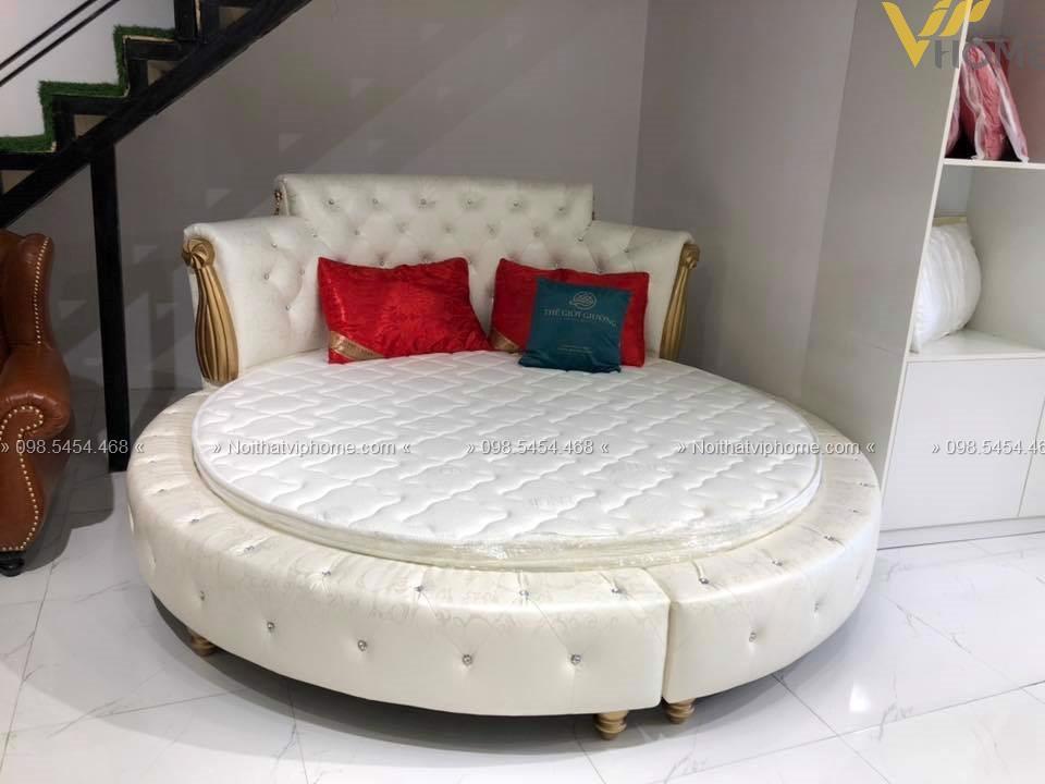 Giường ngủ đôi tân cổ điển đẹp GBD-2006 2