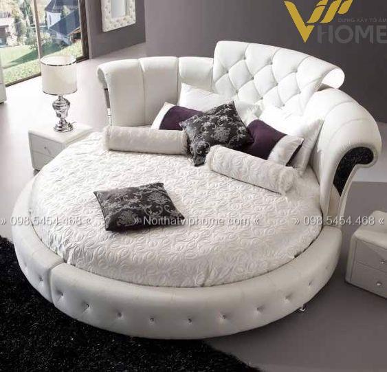 Giường ngủ đôi tân cổ điển đẹp GBD-2006 3