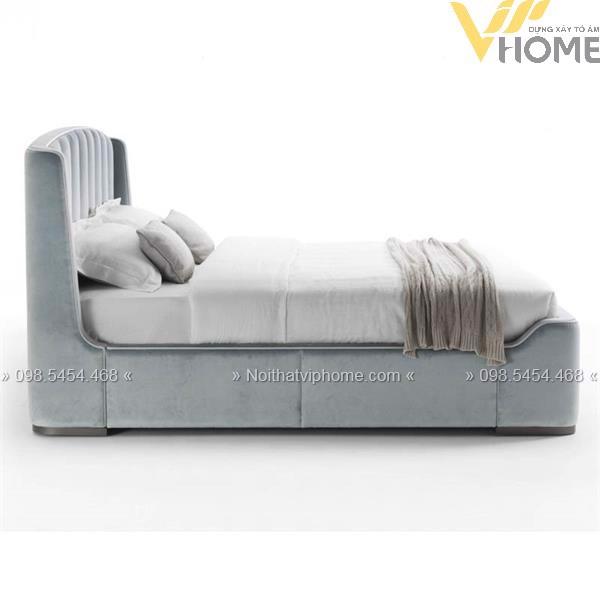 Giường ngủ đôi tân cổ điển đẹp GBD-2007 2