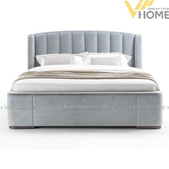 Giường ngủ đôi tân cổ điển đẹp GBD-2007 3