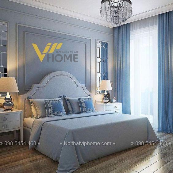 Giường ngủ đôi tân cổ điển đẹp GBD-2008 2