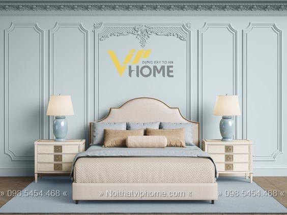 Giường ngủ đôi tân cổ điển đẹp GBD-2008 3
