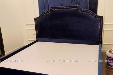 Giường ngủ đôi tân cổ điển đẹp GBD-2009 1