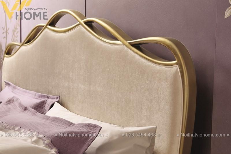 Giường ngủ đôi tân cổ điển đẹp GBD-2010 3