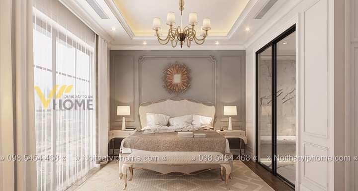 Giường ngủ đôi tân cổ điển đẹp GBD-2010 8