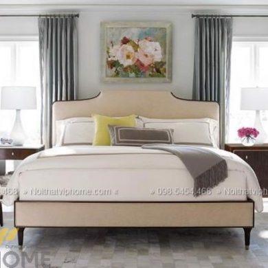 Giường ngủ đôi tân cổ điển đẹp GBD-2011 1