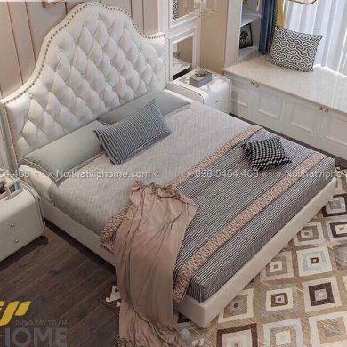 Giường ngủ đôi tân cổ điển đẹp GBD-2013 1