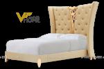 Giường ngủ đôi tân cổ điển đẹp GBD-2015 2