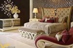 Giường ngủ đôi tân cổ điển đẹp GBD-2015 3