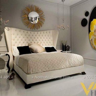 Giường ngủ đôi tân cổ điển đẹp GBD-2020 3