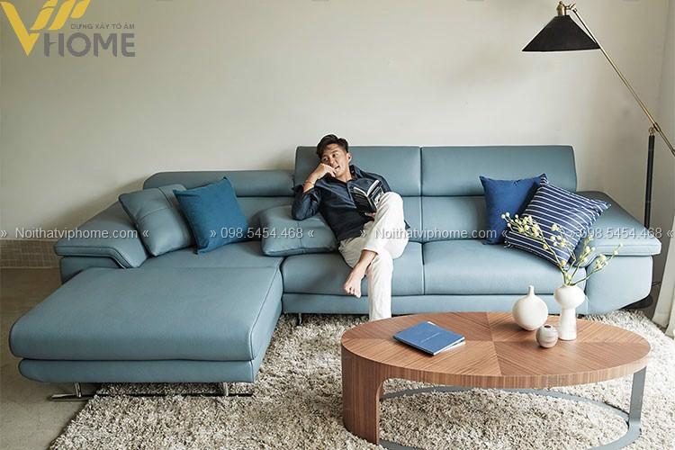 Sofa góc hiện đại đẹp GD-0005 1