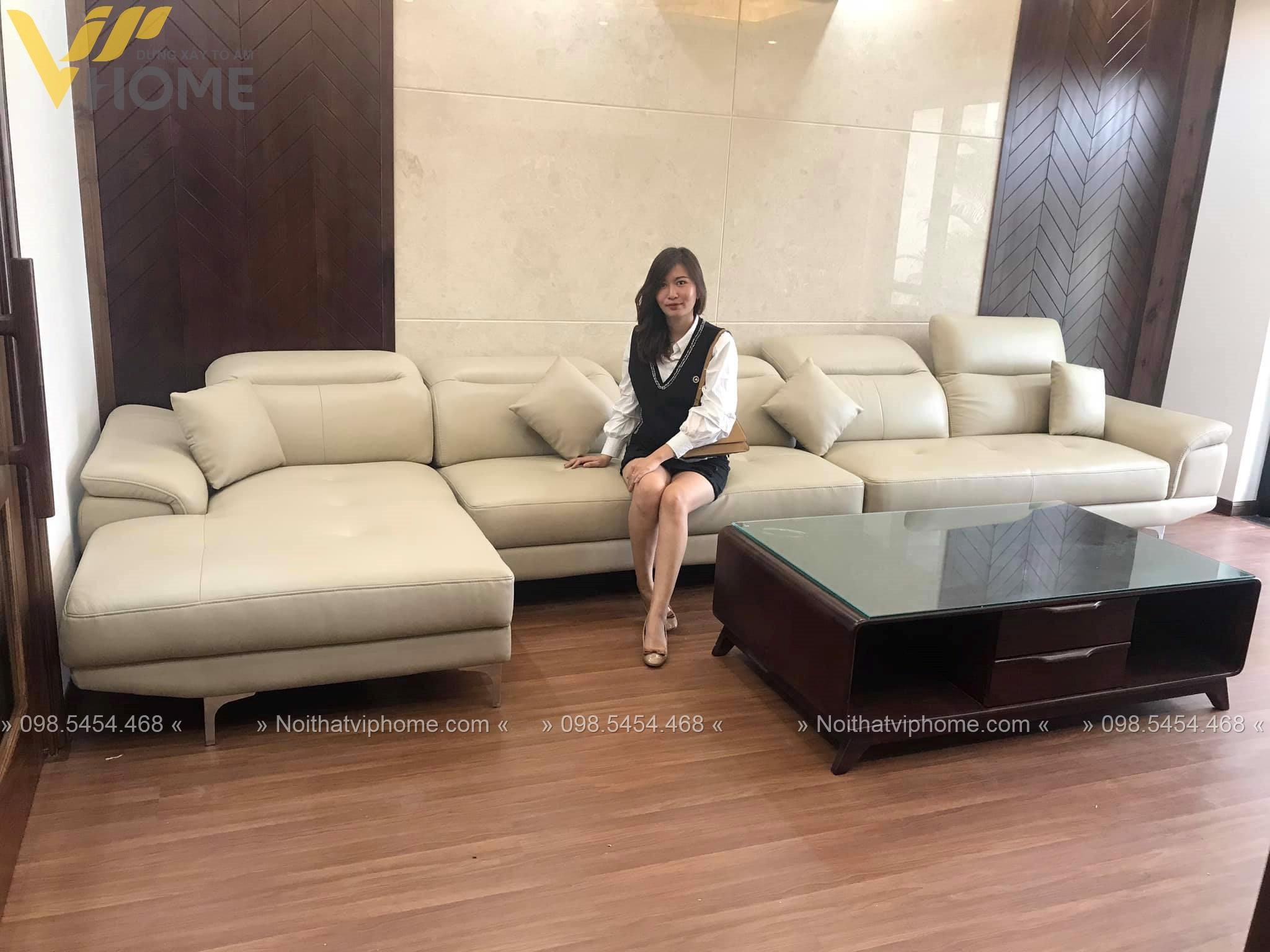 Sofa góc hiện đại đẹp GD-0005 5