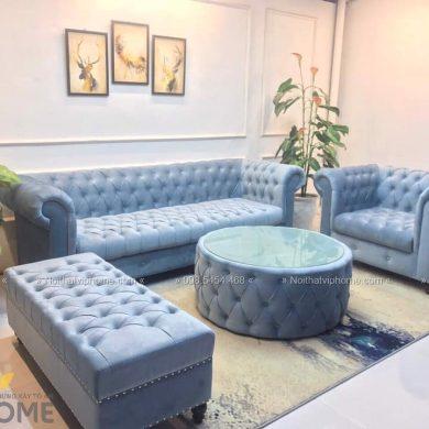 Sofa văng tân cổ điển đẹp SFV-0006