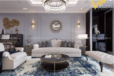 Sofa văng tân cổ điển đẹp TCD-0037 4