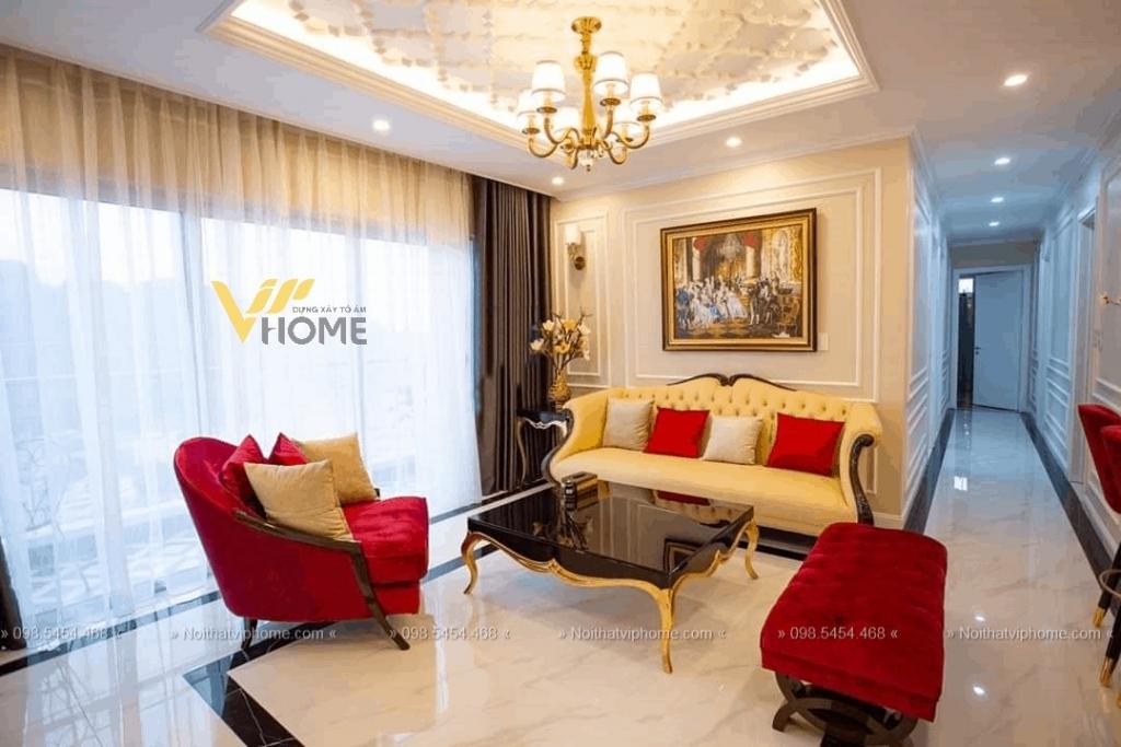 Sofa văng tân cổ điển đẹp TCD-0041 1