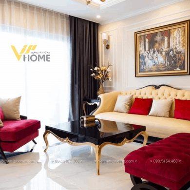 Sofa văng tân cổ điển đẹp TCD-0041 2