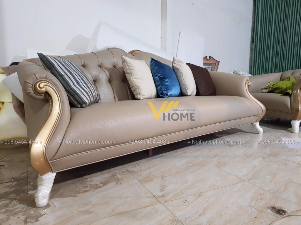Sofa văng tân cổ điển đẹp TCD-0041 4