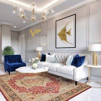Sofa văng tân cổ điển đẹp VV-0015 1