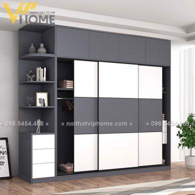 Tủ quần áo hiện đại đẹp TQA-6014 1