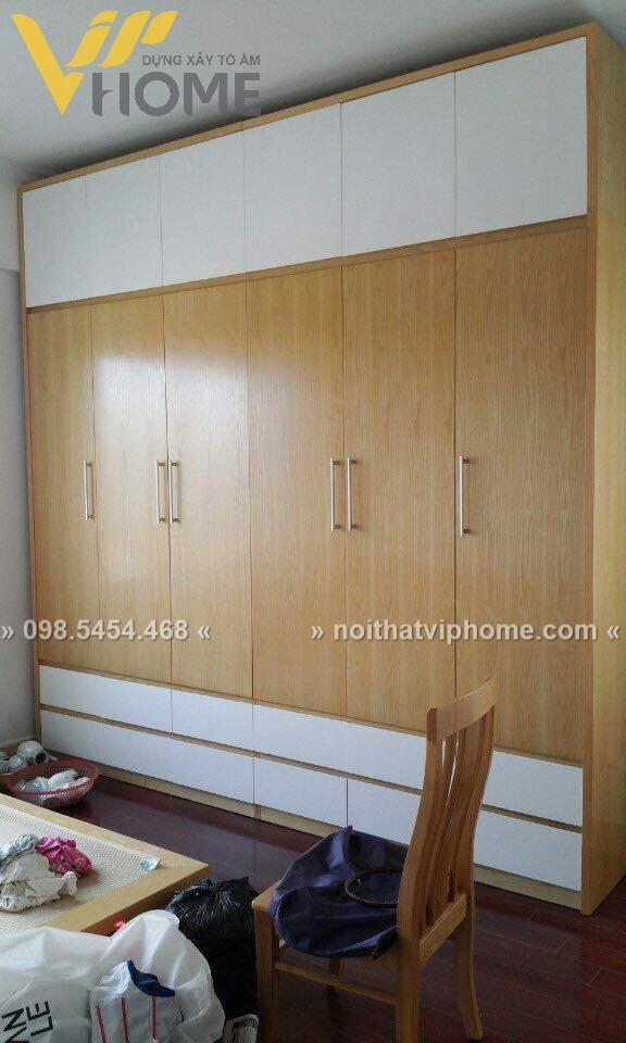 Tủ quần áo hiện đại đẹp TQA-6017 2