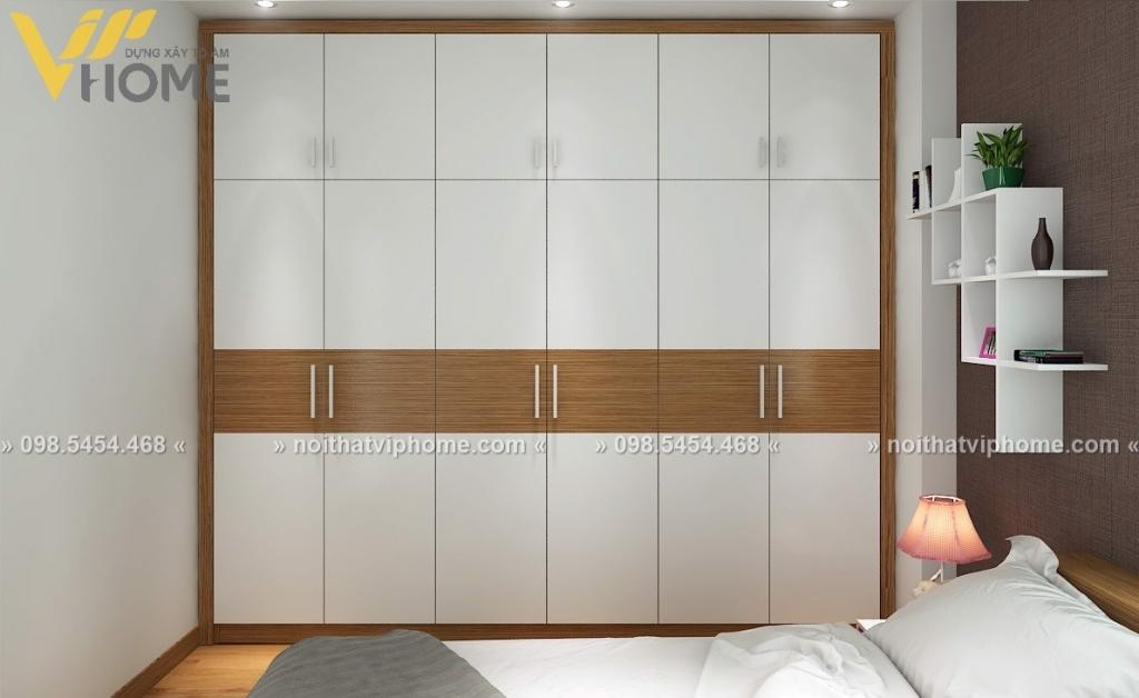 Tủ quần áo hiện đại đẹp TQA-6020