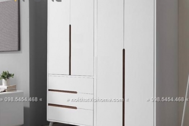 Tủ quần áo hiện đại đẹp TQA-6026
