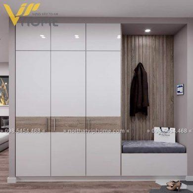 Tủ quần áo hiện đại đẹp TQA-6027