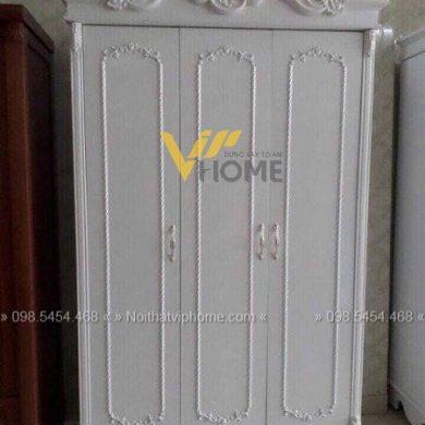 Tủ quần áo tân cổ điển đẹp-TQA-5001