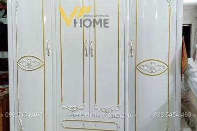Tủ quần áo tân cổ điển đẹp-TQA-5002 3