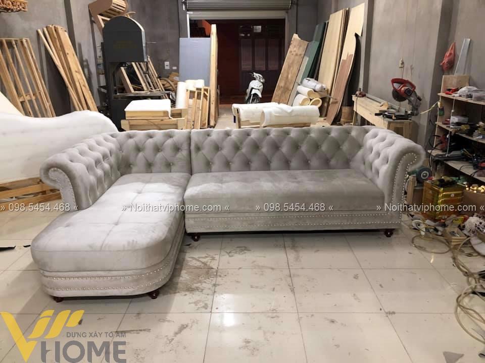 Sofa tân cổ điển đẹp Vip Home 5