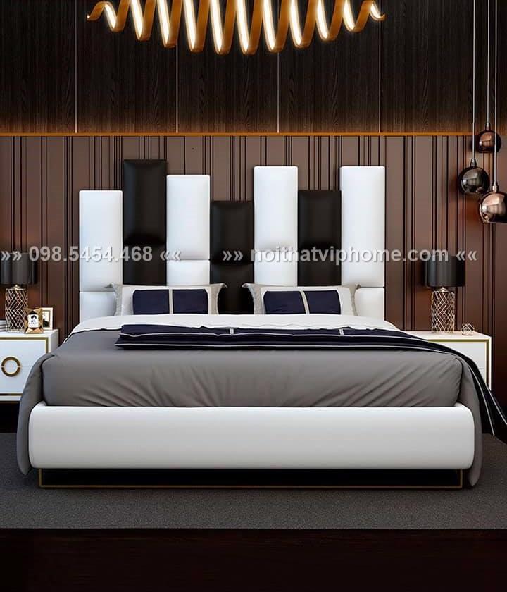 Giường ngủ đôi hiện đại đẹp GBD-2025 1