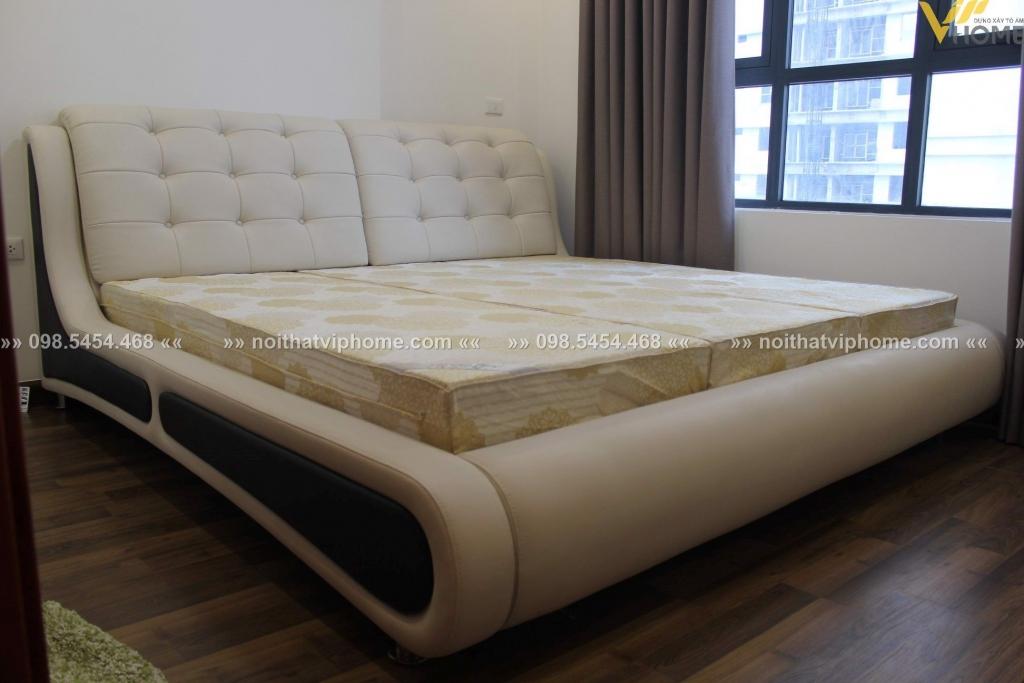 Giường ngủ đôi hiện đại đẹp GBD-2026 3