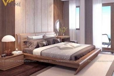 Giường ngủ đôi hiện đại đẹp GBD-2028