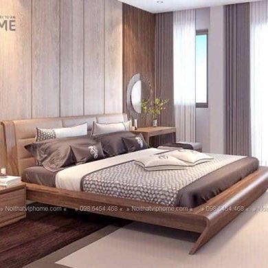 Giường ngủ đôi hiện đại đẹp GG-21001