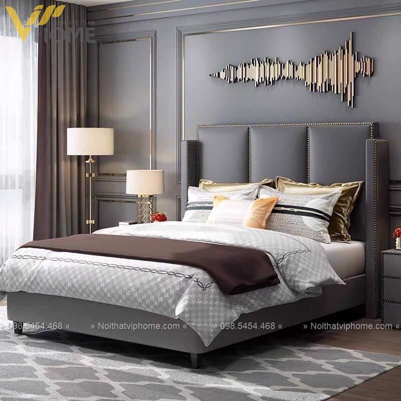 Giường ngủ đôi hiện đại đẹp GBD-2043