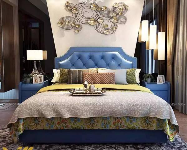 Giường ngủ đôi tân cổ điển đẹp GBD-2031 4
