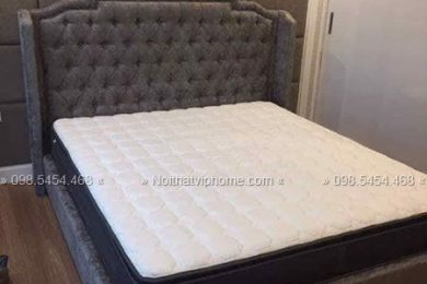 Giường ngủ đôi tân cổ điển đẹp GBD-2037