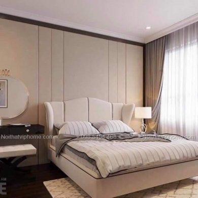 Giường ngủ đôi tân cổ điển đẹp GBD-2040