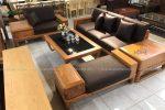 Sofa gỗ sang trọng đẹp SFG-3001