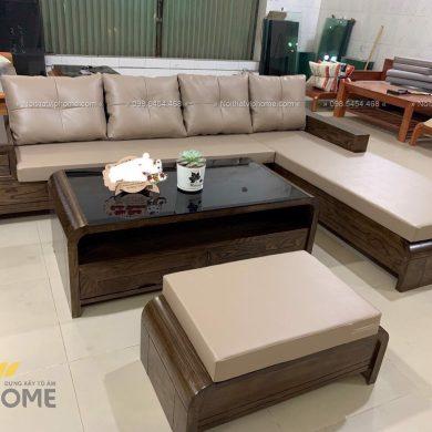 Sofa gỗ sang trọng đẹp SFG-3002 1