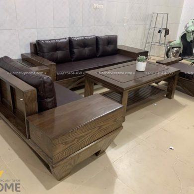 Sofa gỗ sang trọng đẹp SFG-3005 1