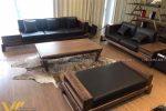 Sofa gỗ sang trọng đẹp SFG-3006 1