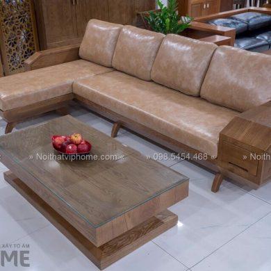 Sofa gỗ sang trọng đẹp SFG-3008 1